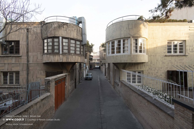 Hanna Boutique Hotel Lolagar Alley in Tehran Renovation by Persian Garden Studio  1