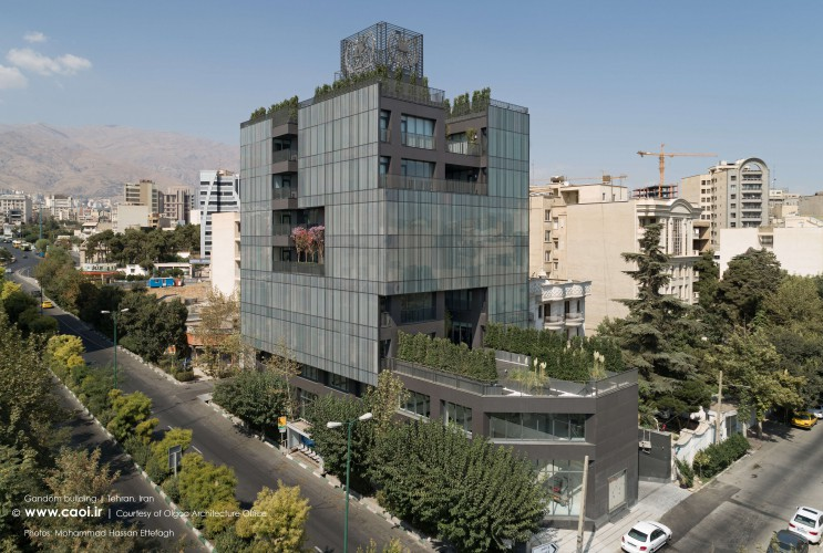 Gandom Building of Zar Macaron in Tehran by Olgoo Architecture Office  1