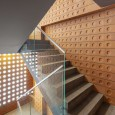 Kohan Ceram Central Office Building in Tehran Hooba Design Brick Architecture  13