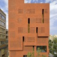 Kohan Ceram Central Office Building in Tehran Hooba Design Brick Architecture  1