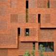Kohan Ceram Central Office Building in Tehran Hooba Design Brick Architecture  2