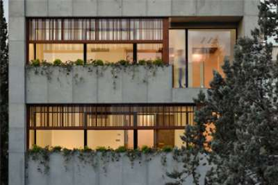 Golzar House in Tehran | Architecture of Iran
