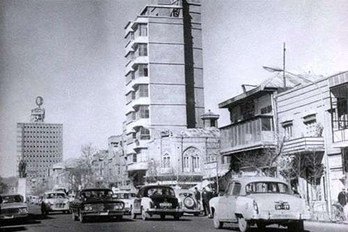 The first tower in Tehran and Iran